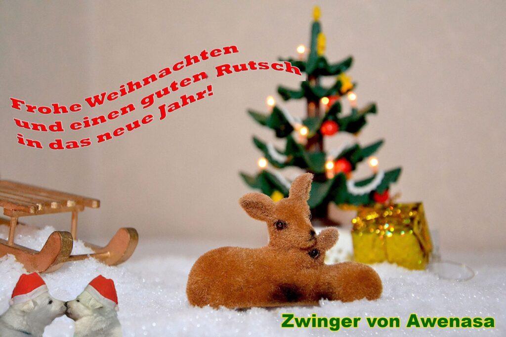Frohe Weihnachten Und Einen Guten Rutsch Von Awenasa